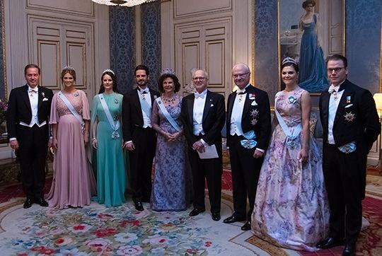 The King S Dinner For The Nobel Laureates Sveriges Kungahus Royal Family Royal Wedding Dresses