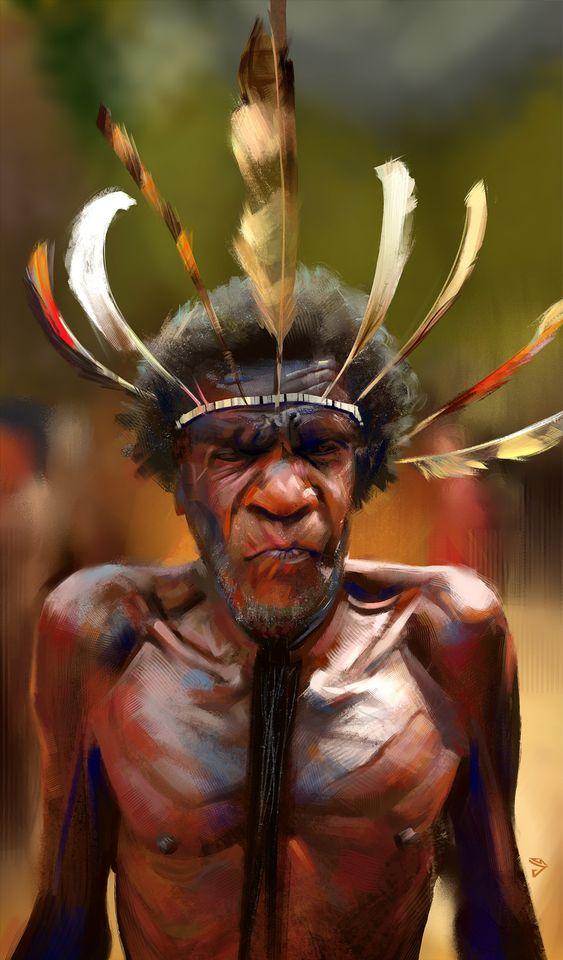 Tribesman Kevin, Josh Summana on ArtStation at https://www.artstation.com/artwork/8m5r6