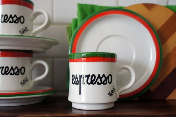Someone buy these for me, NOW. Please?   Hey, I found this really awesome Etsy listing at https://www.etsy.com/listing/187394617/six-italian-baldelli-espresso-cups