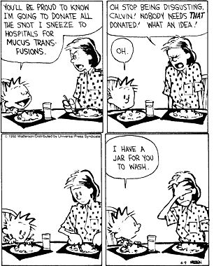 My favorite Calvin and Hobbs of all time!!