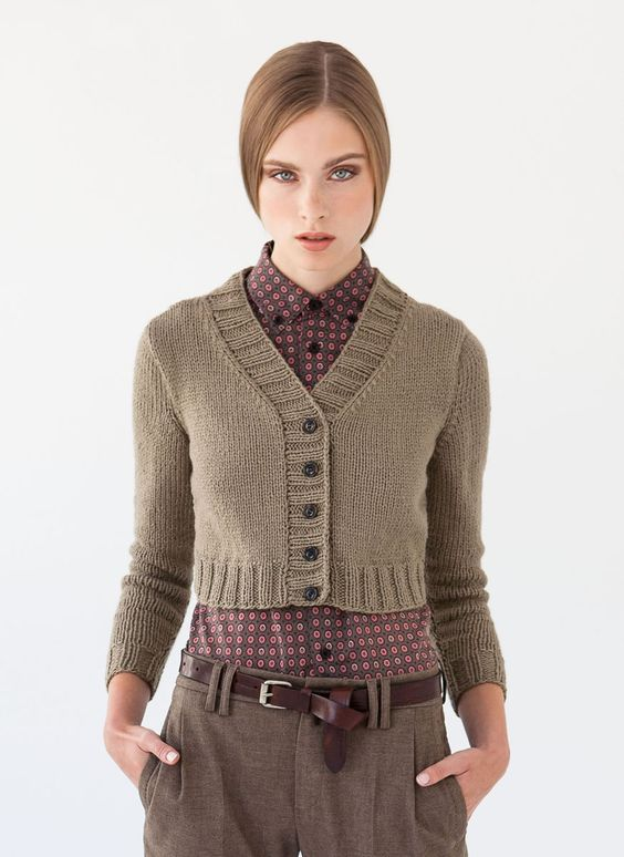 Lana Grossa CARDIGAN 365 Cashmere - ALL SEASONS 365 No. 2 - Modell 12 | FILATI.cc WebShop