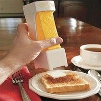 Perfect little square of butter - Cool kitchen gadgets. RP by http://www.splashtablet.com the hyper-cool tablet case so you can shower with your iPad - on Amazon too.