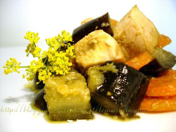 Spezzatino di pollo con verdure e finocchietto | Ricette piatti unici gustosi