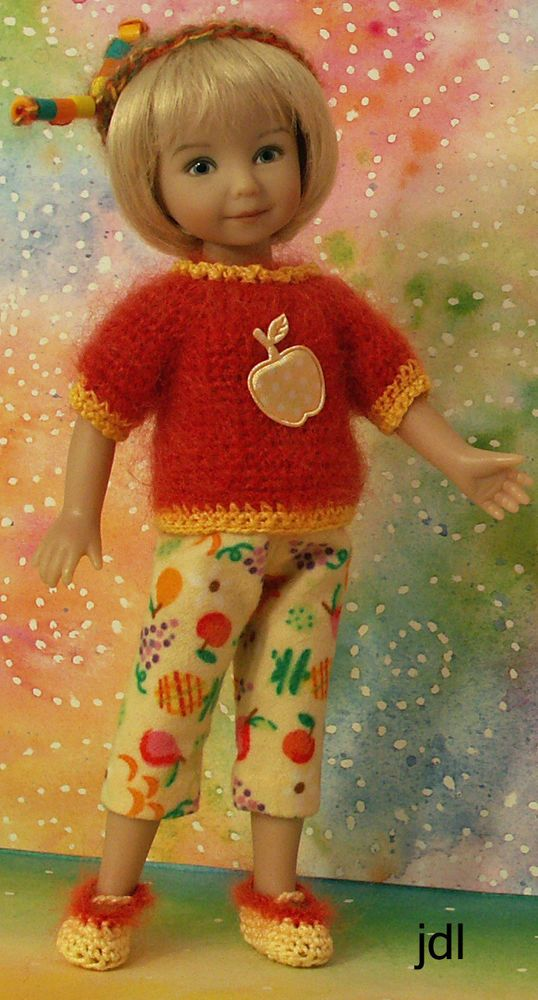 """'Cutie Fruity' for Heartstring Grace 8"""" Dinna Effner Doll by JDL Doll Clothes"""