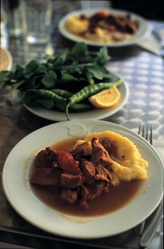 Istanbul Tuskih cuisine Tas kebap