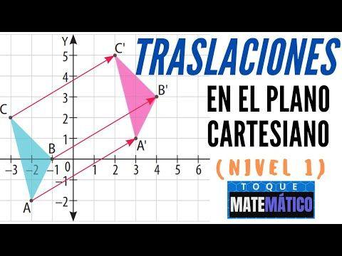 Traslación En El Plano Cartesiano Transformaciones Isometricas Traslaciones Youtube El Plano Cartesiano Transformaciones Isometricas Planos