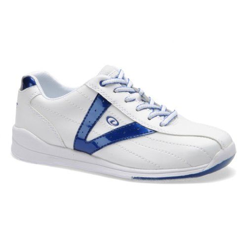 Dexter Womens Vicky Bowling Shoes 7 M US WhiteBlue >>> Read more reviews of the product by visiting the link on the image.