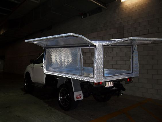 Single Cab Aluminium Ute Canopy