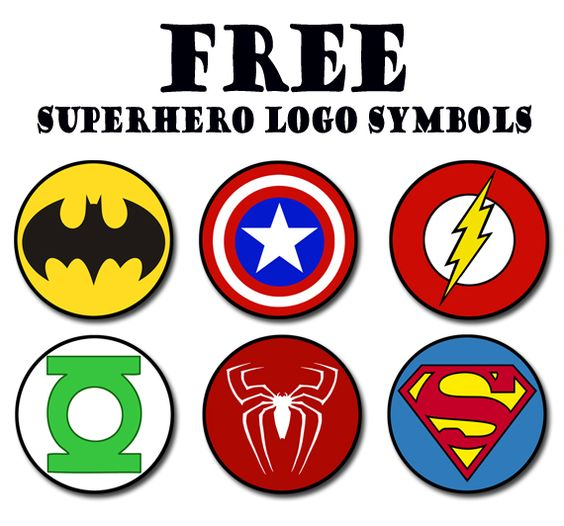 Superhero Logos And Names Images amp Pictures Becuo