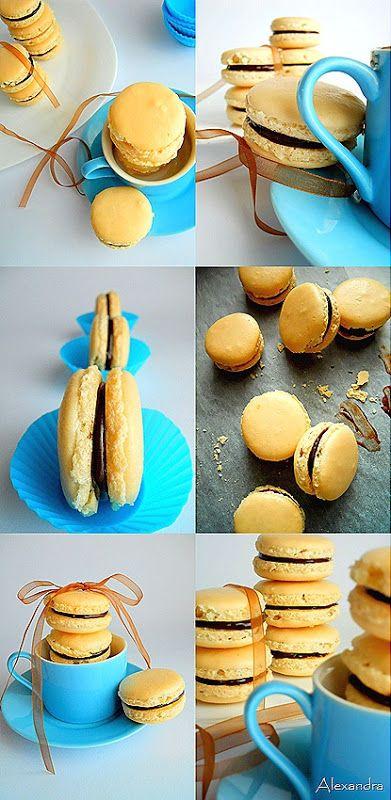 Μα...γυρεύοντας με την Αλεξάνδρα: Macarons με ganache σοκολάτας