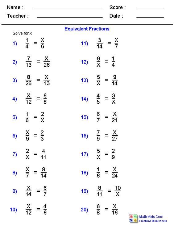 math worksheet : equivalent fraction problems worksheets  fraction worksheets  : Math Help Worksheets