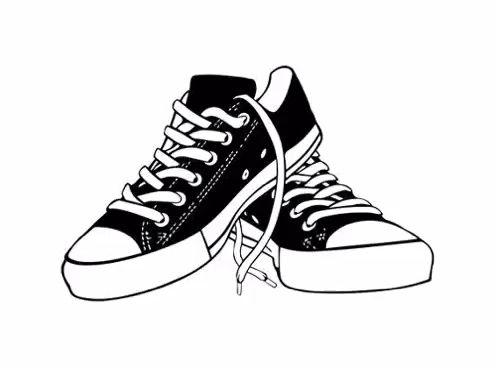 Video Nocturnal Abstract 222 Sepatu Converse Sepatu Hitam Dan Putih
