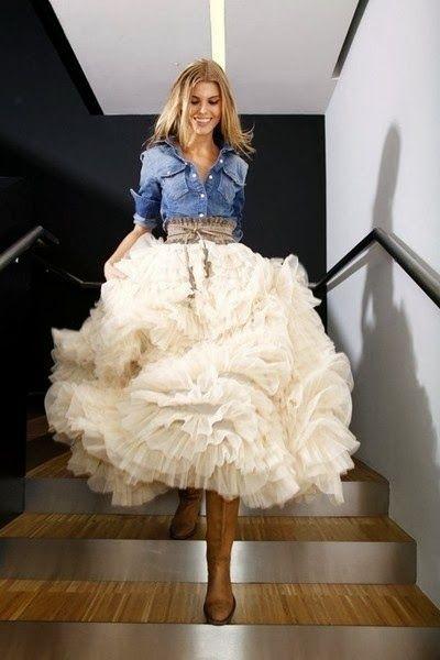*WHITE GLAM*: 'O' vestido...