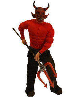 'Gespierde duivel' kostuum