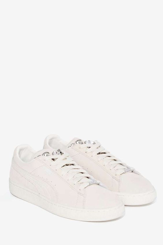 the best attitude da77f cf555 Puma Basket Jewels Suede Sneaker