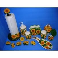 Beautiful Sunflower Kitchen Stuff | China Kitchen Decor Manufacturer, Custom Kitchen  Decors Supplier .