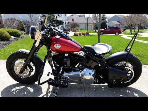 Harley Davidson Softail Slim Bobber Harledavidson Softailslim