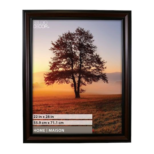 Brown Black Frame Home Collection By Studio Decor In Brown Black 22 X 28 Michaels Frames On Wall Home Collections Decor