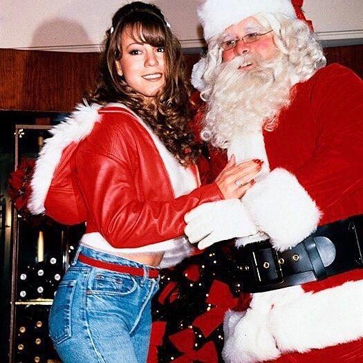 Merry Christmas Y All Christmas Mariah Mariahcarey Merrychristmas Denim Santa Santaclause Fashion Mariah Carey Christmas Mariah Carey Mariah Carey 90s