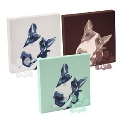 Bull Terrier Canvas for you by K9 from www.PetsPyjamas.com