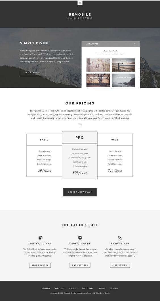 Remobile Pro by StudioPress