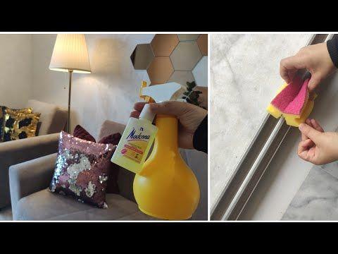 أول روتين في بيتي الجديد وصفة لتنظيف طلامط والسيجور في 5 دقائق فقط وبلا صابون خدع تنظيف رائعة Youtube Decor Home Decor Lamp