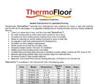 Heated Wood Floor & Laminate Floor Heating | Thermosoft