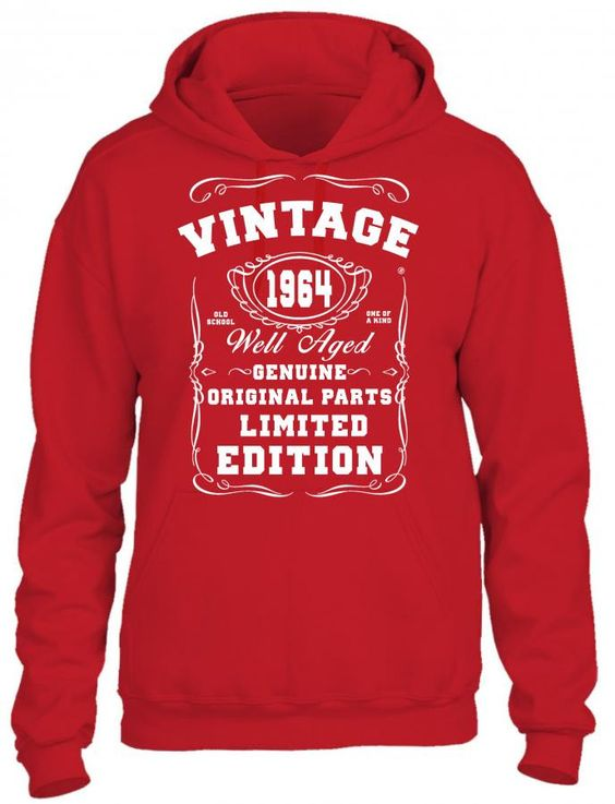well aged original parts limited edition 1964 HOODIE