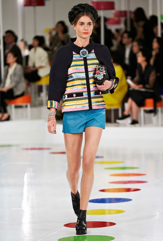 A look from Chanel's Cruise 2015/2016 collection. Photo: Chanel