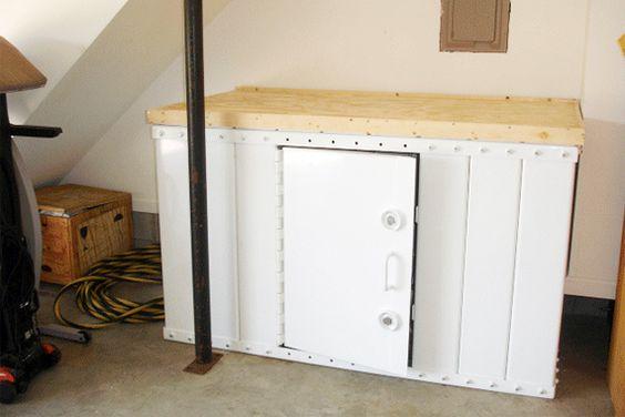 Garage Floor Storm Shelter Plans: Storm Shelters, Shelters And Simple Designs On Pinterest