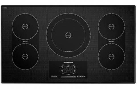 Kitchenaid 36 3125 Electric Cooktop Black With Stainless Steel Pcrichard Com Kicu569xss Kitchenfurnitu Induction Cooktop Kitchen Aid Cool Things To Buy