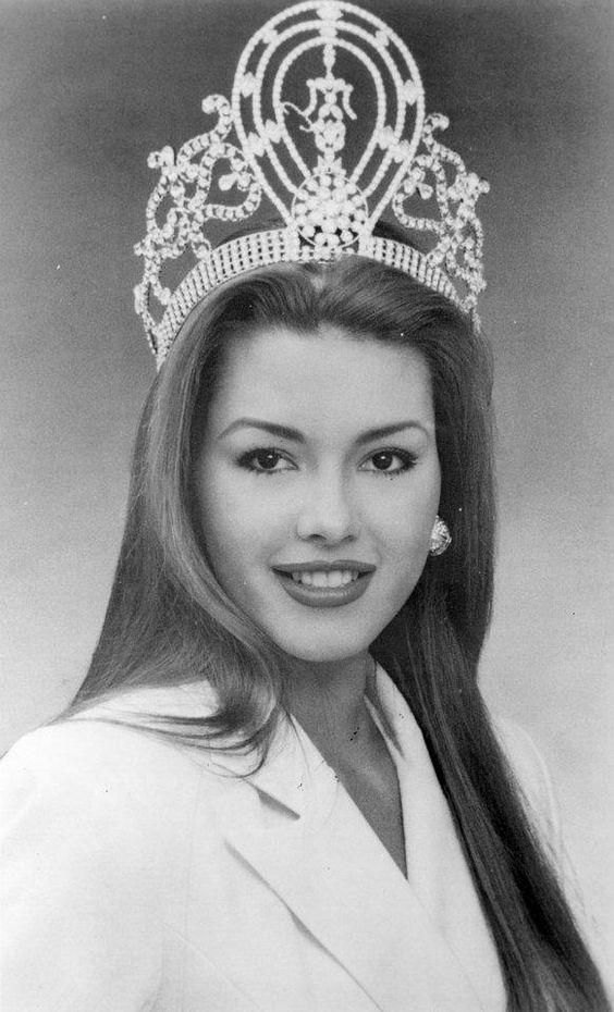 Joseph Alicia Machado. Miss Venezuela y Miss Universo 1996.. | ~Ela ...