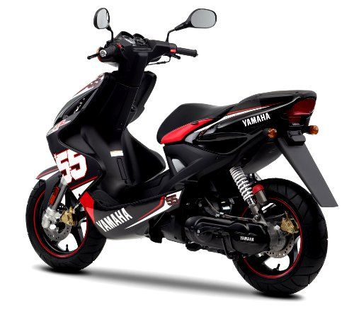 2011 yamaha aerox sp55 black red white back picture. Black Bedroom Furniture Sets. Home Design Ideas
