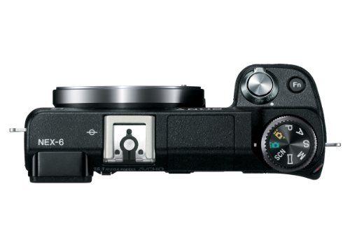 Sony NEX6/B Sony NEX-6/B 16.1 MP Compact Interchangeable Lens Digital Camera with 3-Inch LED - Body Only (Black)