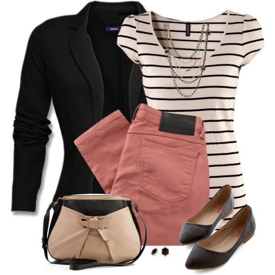 A fashion look from August 2014 featuring H&M tops, Mexx blazers and Religion Clothing jeans. Browse and shop related looks.