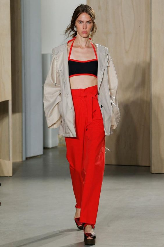 sports bra top- Creatures of the Wind Spring 2015 Ready-to-Wear - Collection - Gallery - Look 1 - Style.com
