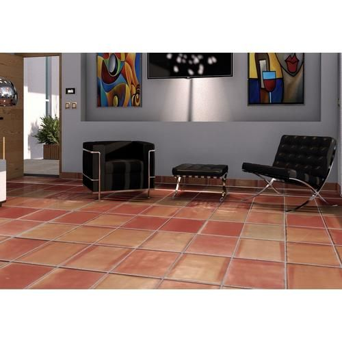 Super Sealed Saltillo Tile In 2020 Saltillo Tile Colorful Tile Floor Mexican Tile Floor