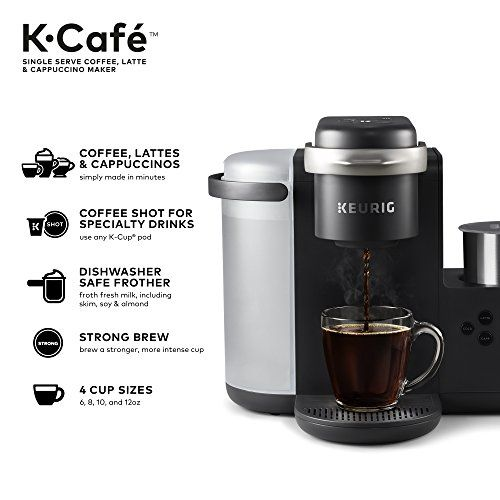 Keurig K Cafe Special Edition Coffee Maker Single Serve K Cup Pod