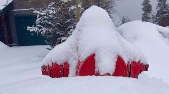 Firefighters would like to remind residents to make sure to clear snow around neighborhood fire hydrants too.