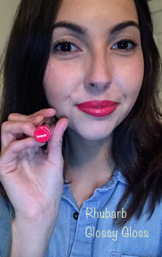 Rhubarb perfect for Spring!!  **LipSense No smear, long lasting lip color