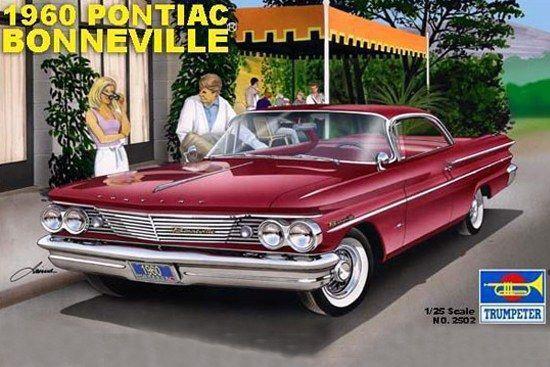 Boxart 1960 Pontiac Bonneville Sports-Coupe 02502 Trumpeter