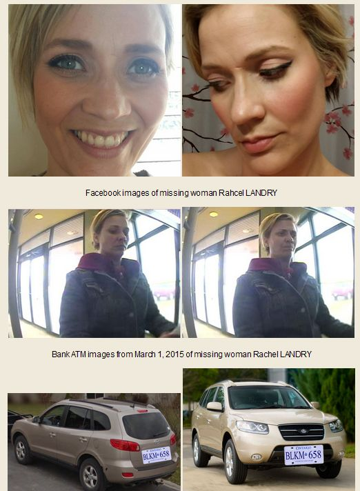 Kingston Police and family members of 35-year-old Kingston woman, Rachel LANDRY, are concerned for her well-being and are appealing to the public for assistance in locating her. Shortly after noon ...