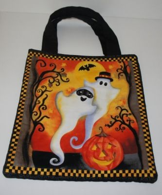 Ghosts Trick or Treat Bag