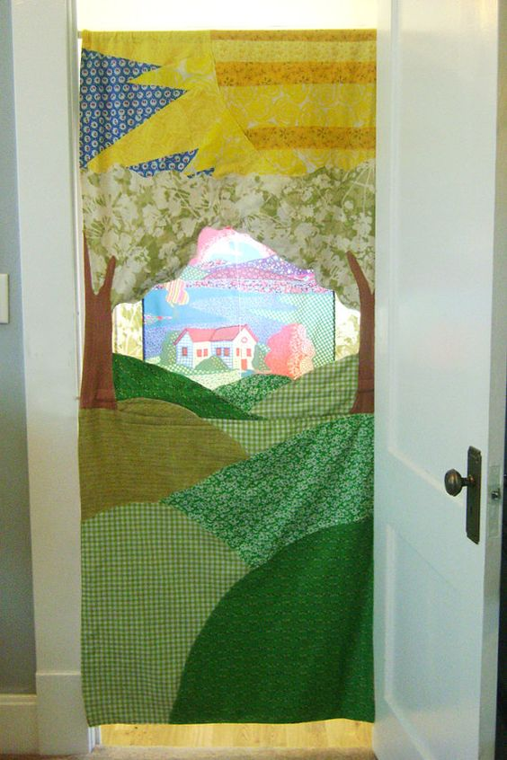 """doorway puppet theater....  is it tacky to """"pin"""" your own stuff??? just thought id give it a go."""