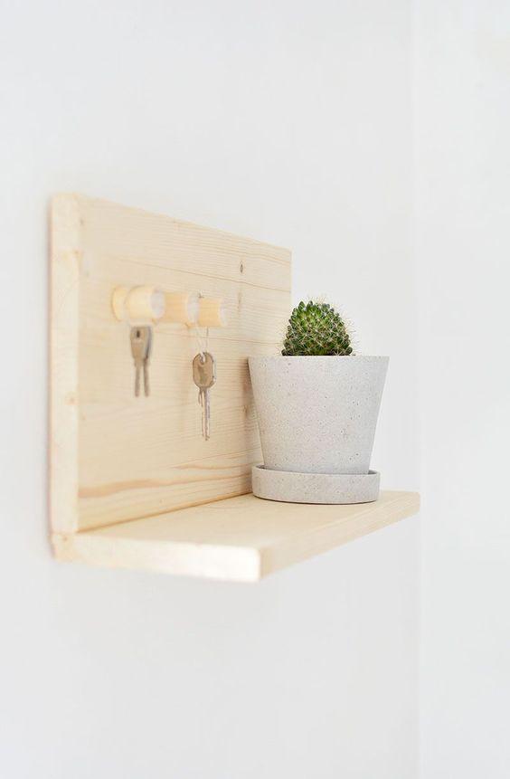 burkatron.: DIY   key shelf