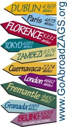 Study Abroad with Gonzaga University. Spend a year, semester, or summer abroad and be inspired by the people, cultures, languages, and histories of places around the globe. Go Abroad ZAGS!