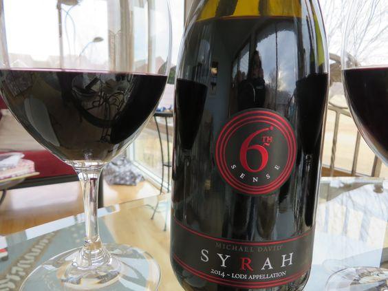 Rượu Vang Sixth Sense Syrah 14,5% - Chai 750ml