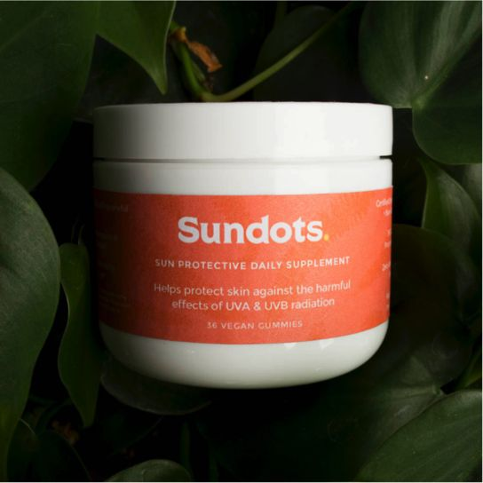 SUNDOTS: THE NEW SUN PROTECTION YOU CAN…EAT!