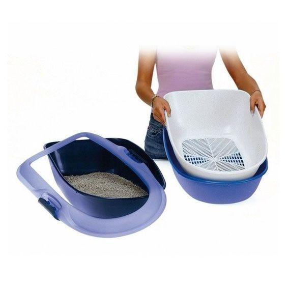 Katzentoilette Berto-Katzenklo-schnelles und einfaches Reinigen