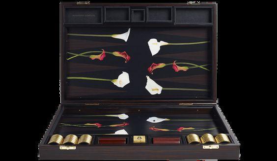 Bespoke Backgammon Board